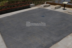 Bomanite Alloy Exposed Aggregate was installed here to create a hardscape plaza that is artistically expressive and extremely durable and the beautiful nature and high quality of Bomanite decorative concrete stands out in this space.