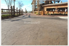 Bomanite Imprint Systems with Erosion Series Textured Concrete