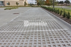 Our partner, Texas Bomanite, used the Bomanite Grasscrete System to create a pervious pavement surface at Hope Fellowship Church that will create a decrease in the overall impervious percentage on the site and allow for proper stormwater drainage.